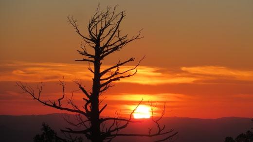 Sunset Mount Lemmon Sky Center Arizona