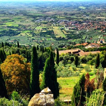 Tuscany Hilltop town Cortona Italy
