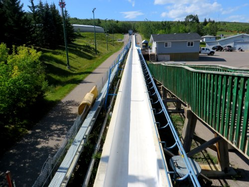 Bobsled run Canada Olympic Park