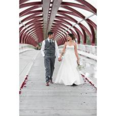 Calgary Peace Bridge Wedding